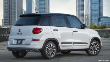 2019 Fiat 500L Trekking   Rear Three Quarter HD Wallpaper 17