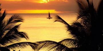 sunset wallpaper 660 330 st lucia news online lucia sunset wallpaper