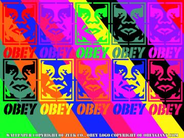Obey Giant Wallpaper by fmafan5000