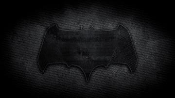 batman logo in batman vs superman dawn of justice movie 2016