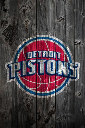 Detroit Pistons Wood iPhone 4 Background Flickr   Photo Sharing