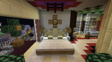 minecraft furniture bedroom bedroom ideas minecraft 854x480