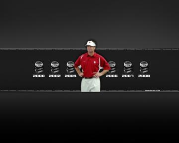 1280x1024 Oklahoma Sooners   Bob Stoops Wallpaper Download