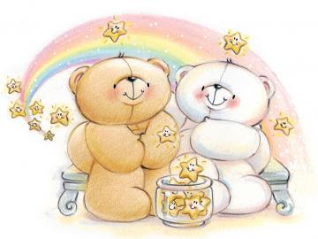 Cartoon Bear Cute Forever Friends Wallpapers