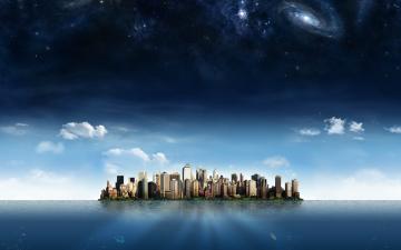 Amazing 3D City Wallpaper Hd Desktop Wallpaper
