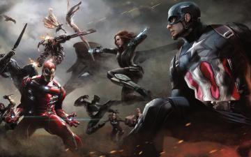 Artwork Captain America Civil War HD Wallpaper   iHD Wallpapers