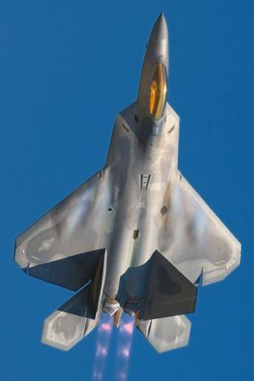 F22 Raptor After Burner iPhone HD Wallpaper iPhone HD Wallpaper