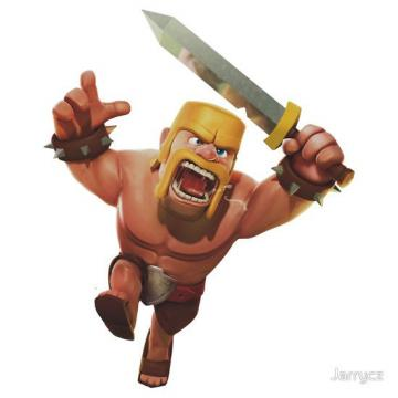 Wallpaper Barbarian Clash of Clan Clash of Clans Barbarian