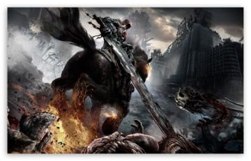 Darksiders Horsemen HD wallpaper for Standard 43 54 Fullscreen UXGA