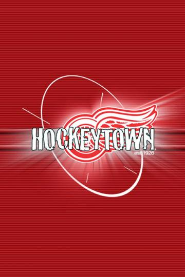 Download Detroit Red Wings iphone Android wallpaper