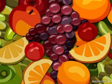 Mixed Fruit Wallpaper   Fruit Wallpaper 7004507