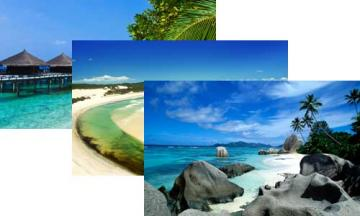 Beach Windows 7 theme packed with beautiful beach wallpapers sure to