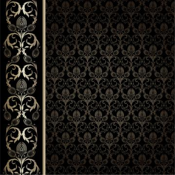 gorgeous wallpaper background pattern vector Vector 4Vector