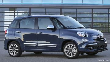 2019 Fiat 500L   Side HD Wallpaper 2