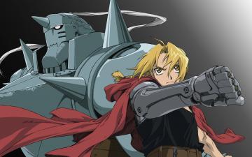 Fullmetal Alchemist blondes Elric Alphonse Elric Edward wallpaper