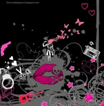 am emo background emo punk emo wallpapers leave a comment