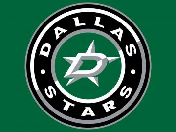 Dallas Star Logo Nhl Neon