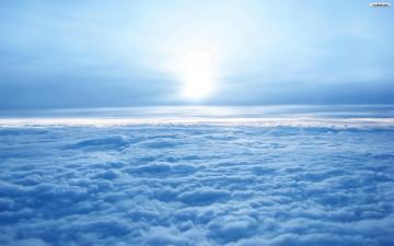 Above The Blue Clouds Wallpaper   wallpaperwallpapersfree wallpaper