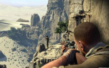 sniper elite 3 game hd wallpaper