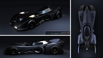 Batmobile   1989 by bruno leveque