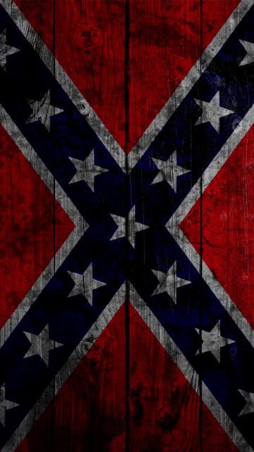Confederate Flag iPhone 5 Wallpaper 640x1136