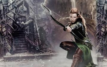 2015 By Stephen Comments Off on Evangeline Lilly The Hobbit Wallpapers