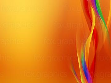 Cool orange background   Fox Graphics