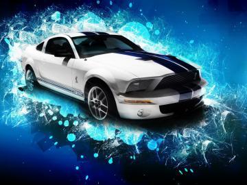 Ford Mustang GT500 Sports Car computer desktop wallpapers