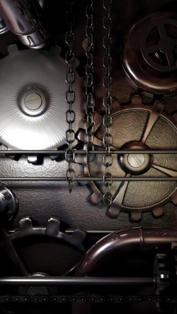 machine steampunk iPhone 5s Wallpaper Download iPhone Wallpapers