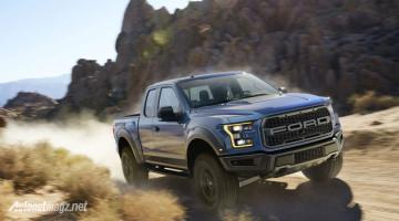 Ford claimed they made F 150 Raptor 2017 become bigger tougher
