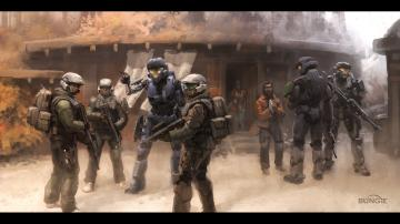 Spartan Halo Kat Halo Reach concept art Bungie wallpaper 1920x1080