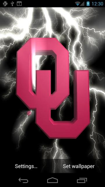 Oklahoma Sooners LWPs Tone   Android Apps on Google Play