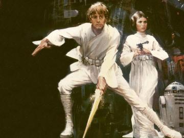 Luke Skywalker Leia Wallpaper Star Wars Wallpaper