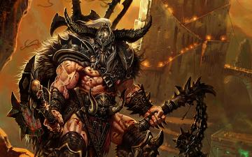 Diablo 3 Barbarian wallpaper   876956