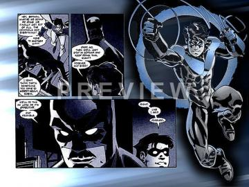 Nightwing   1366 768 Wallpaper