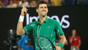 Australian Open 2020 Novak Djokovic beats Roger Federer to reach