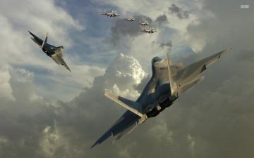 Lockheed Martin F 22 Raptor wallpaper 1920x1200 jpg