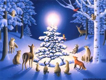 Christmas Wallpapers   Kids Desktop Backgrounds for Christmas and
