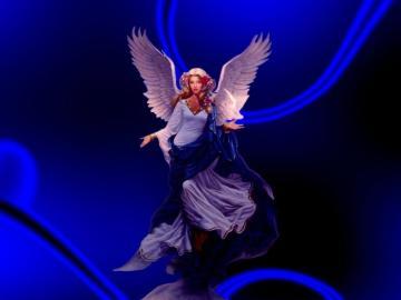 Blue Angel Wallpaper Blue Angel Desktop Background
