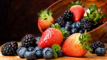 Fruits Food Wallpaper 1920x1080 Fruits Food Blackberry Fruit