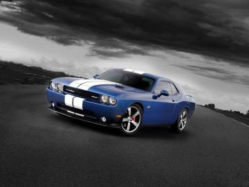 wallpaper Dodge Challenger SRT8 Car