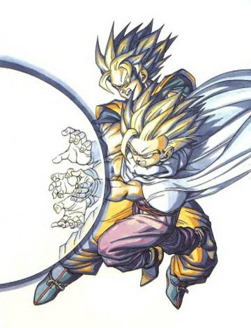 gohan and goku jpg wallpaper anime dragonball gohan and goku