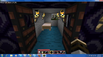 My bedroom in minecraft by JayDemon