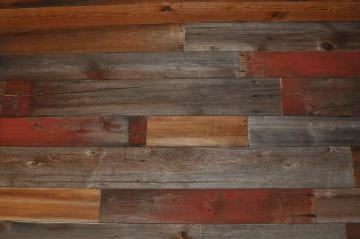 Barn Wood Wall From reclaimed wood inc