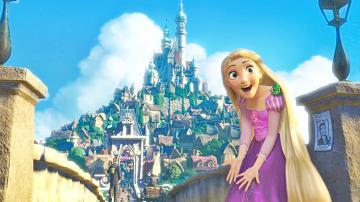 Walt Disney Screencaps Princess Rapunzel Pascal walt disney characters