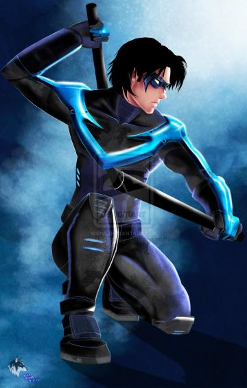 Nightwing by Radiant Grey
