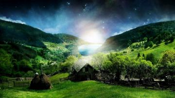 green full HD nature background wallpaper for laptop widescreenjpg