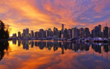 Vancouver Sunset Wallpaper