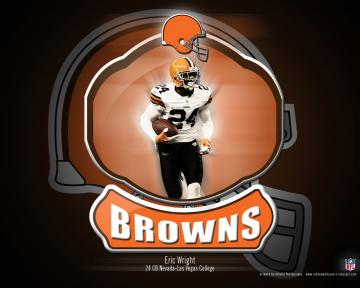 Arkane NFL Wallpapers Eric Wright   Cleveland Browns