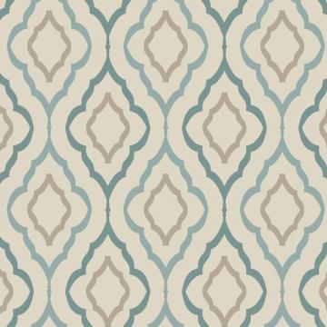 Candice Olson Teal Diva Wallpaper   Wall Sticker Outlet